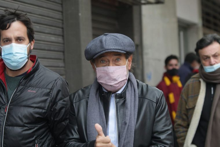 FOTO: Francella participa del rodaje de
