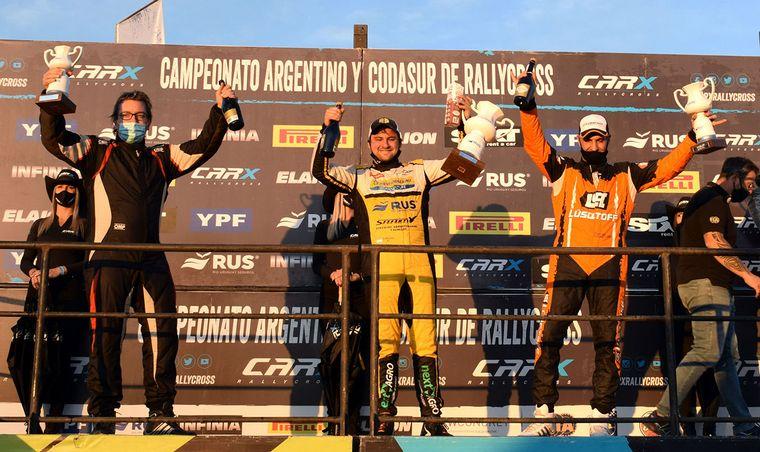 FOTO: Marcos Ligato (Agile/Tango) fue al podio, 3°.