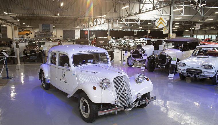 FOTO: En marcha el Citroën, de Alaska a Ushuaia.