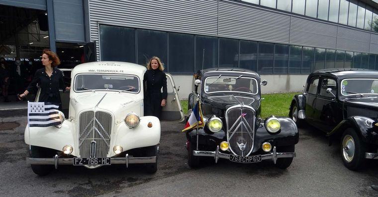 FOTO: A recorrer 40.000 kilómetros en 14 países sobre el Citroën.