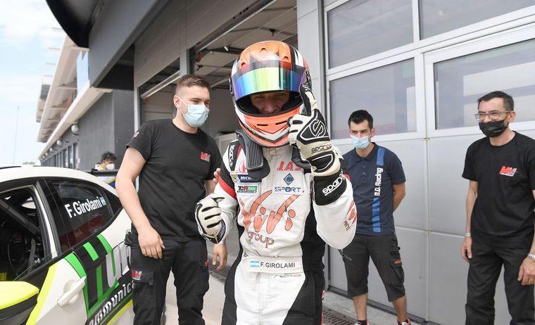 FOTO: Franco Girolami y su Honda, haciendo historia en el TCR Italiano.