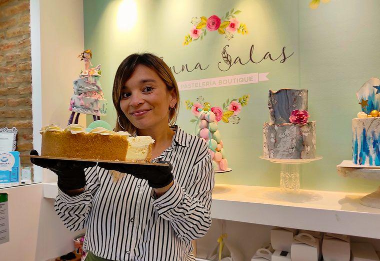 FOTO: Sil Ledesma en Anna Salas Pastelería