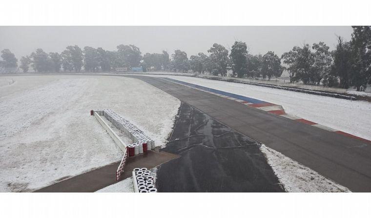FOTO: El aspecto del autódromo de Río Cuarto, esta mañana