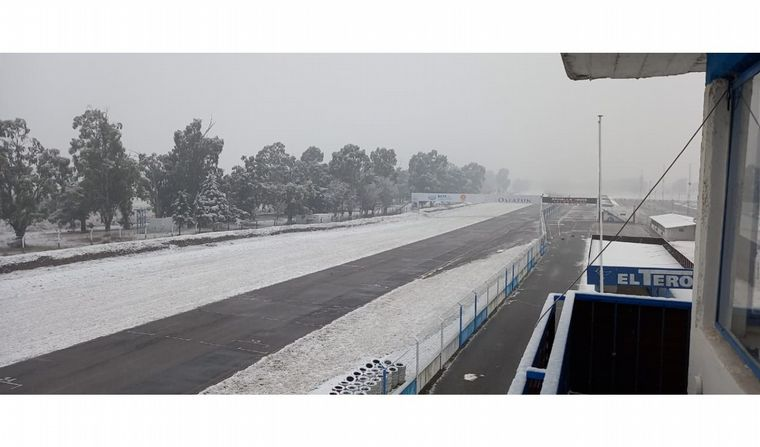 FOTO: La vista en el Autódromo Parque Ciudad de Río Cuarto