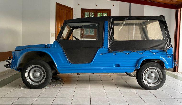 FOTO: Citroën Méhari 1977, propiedad de Gustavo Gigena (Córdoba)
