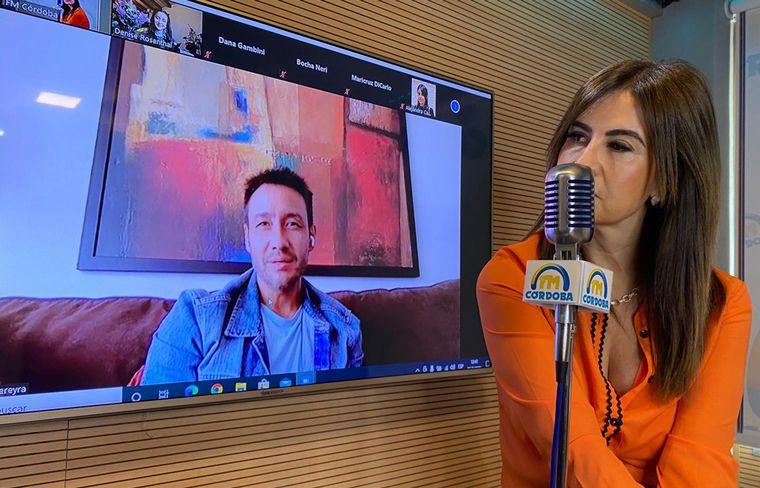 AUDIO: Entrevista a Luciano Pereyra y Denise Rosenthal en Animate