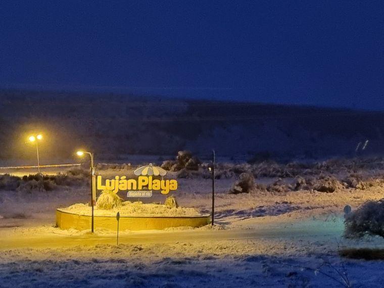 FOTO: Nieve en Mendoza