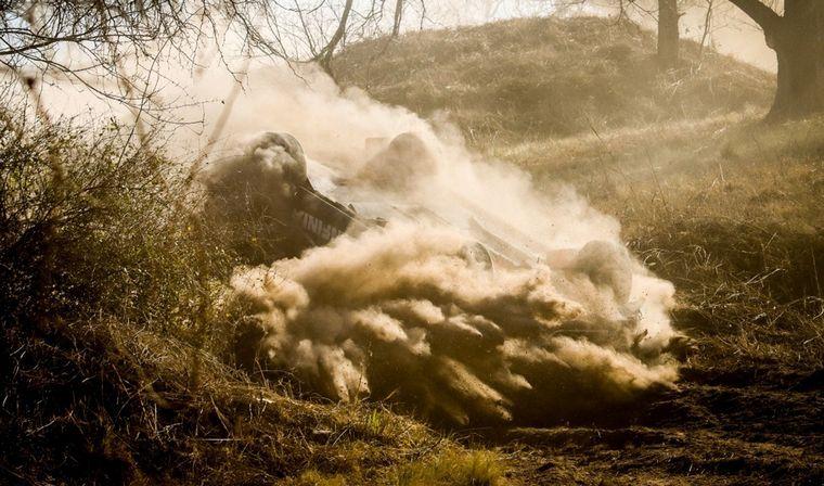 FOTO: En el medio del 'Bosquecito' del Cabalén, Ligato inicia su tumbo