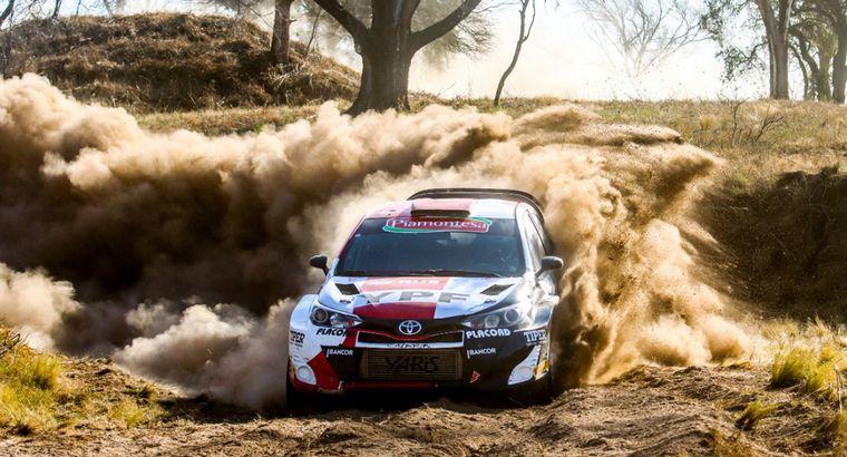 FOTO: Nico Díaz (Ford) nuevo líder en Maxi Rally.