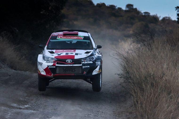 FOTO: Nico Díaz con el Ford ganó en Maxi Rally.