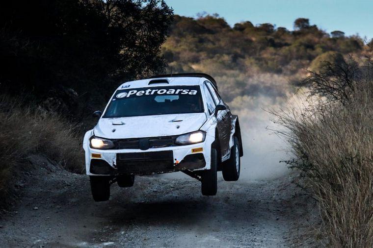 FOTO: Villagra con el Yaris del TGR fué escolta en Maxi Rally,