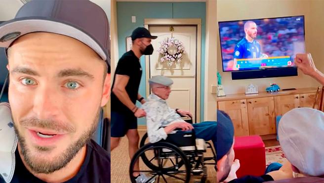 FOTO: El video de Zac Efron con su abuelo que se hizo viral en las redes sociales.