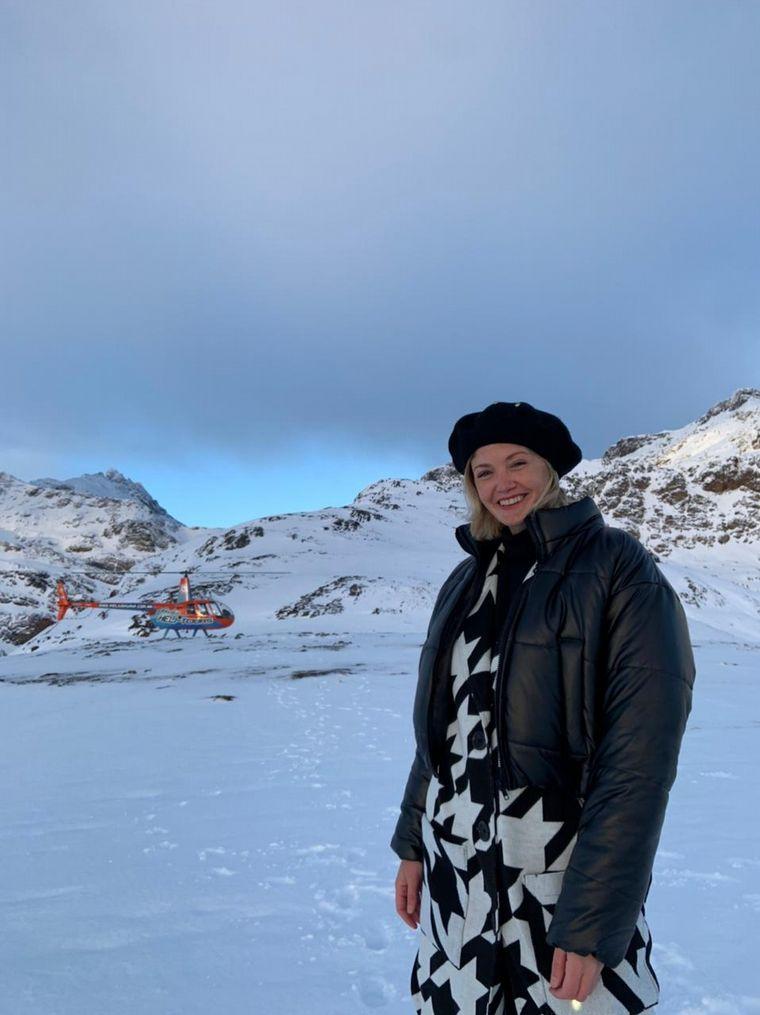 AUDIO: Un recorrido en helicóptero para apreciar Ushuaia de arriba