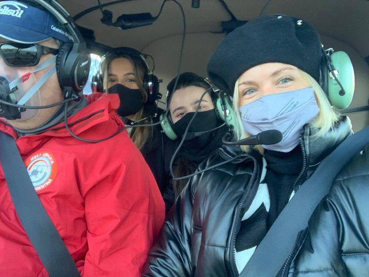 FOTO: Un recorrido en helicóptero para apreciar Ushuaia de arriba