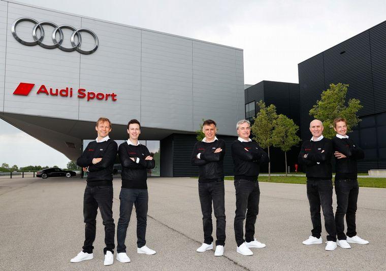 """FOTO: """"Audi es una marca famosa del automovilismo"""", señala con orgullo Stéphane"""