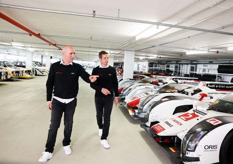 FOTO: Peterhansel, Sainz y Ekström, los tres pilotos de Audi para el Dakar