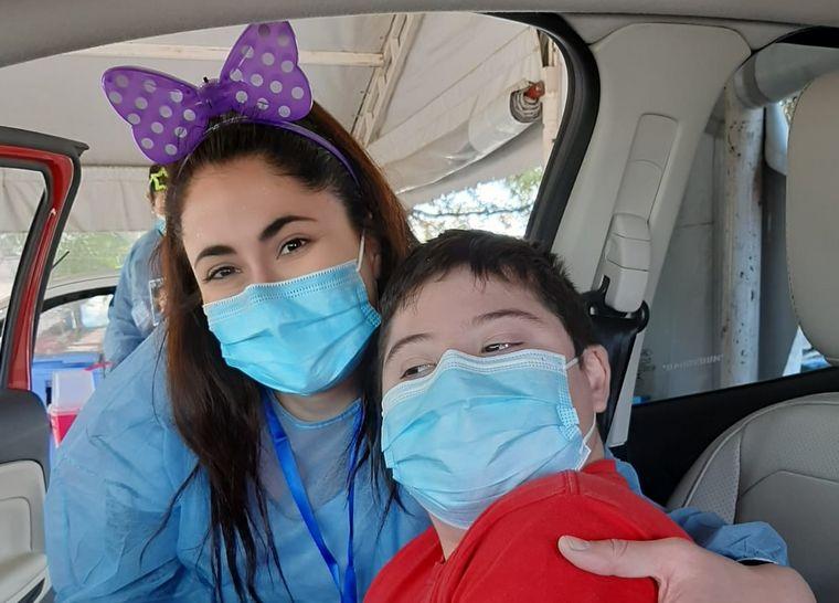 FOTO: Pedro recibió su vacuna contra el coronavirus