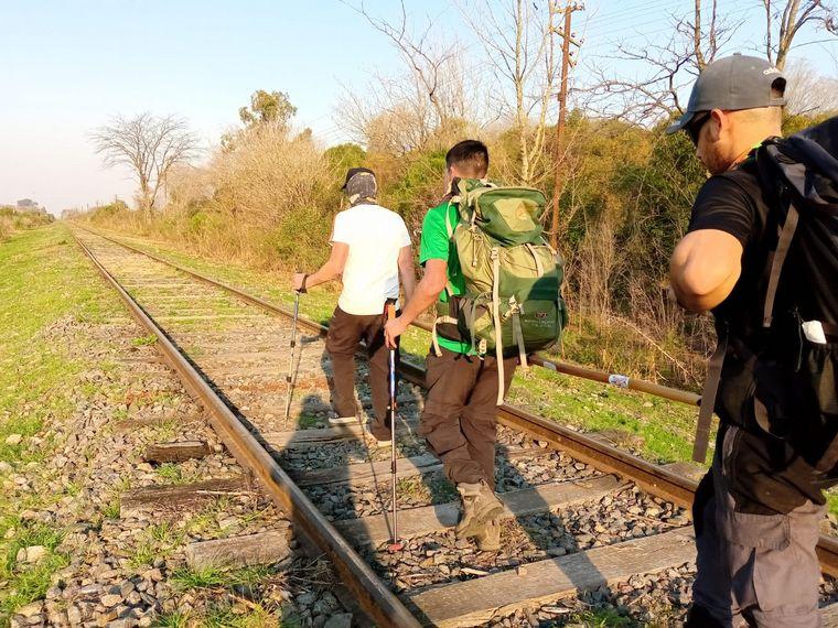 AUDIO: Un ex Murciélago se anima ahora al trekking para ciegos