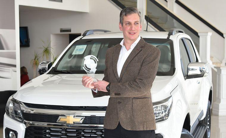 FOTO: CESVI Argentina galardonó como la Pickup mediana más segura a S10.