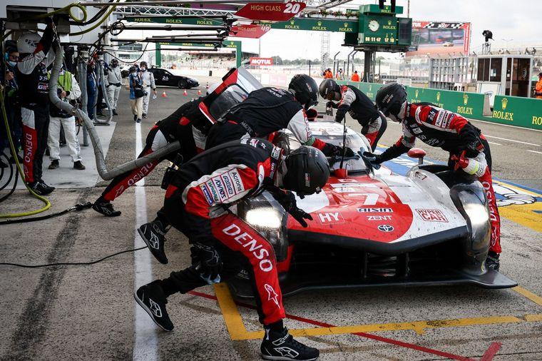 FOTO: El Toyota #7 de López-Conway-Kobayashi ganó las 24 Horas de Le Mans