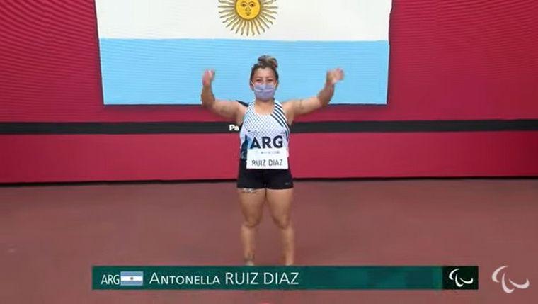 FOTO: Antonella Ruiz Díaz logró medalla de bronce en Tokio 2020
