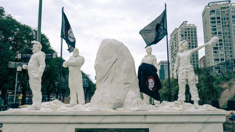 FOTO: Las estatuas de