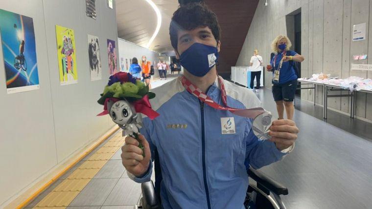 FOTO: Matías De Andrade se alzó con la medalla de plata.
