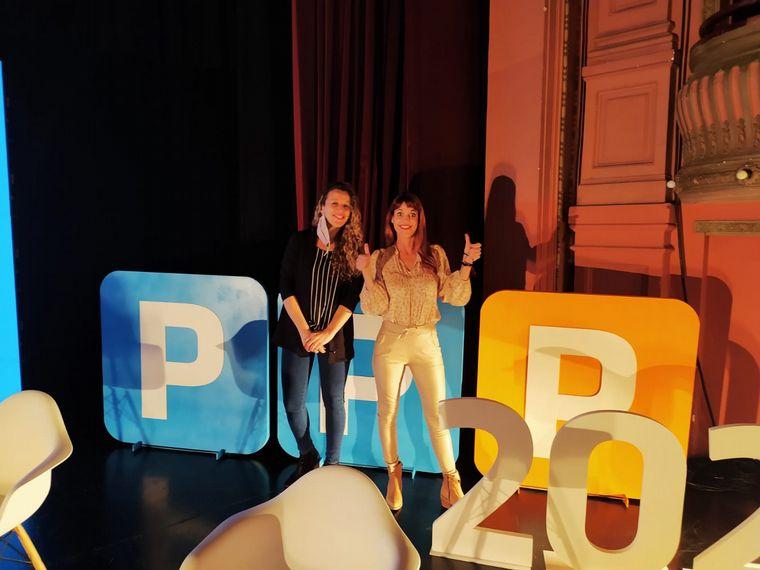 FOTO: Flavia Iros participó de una charla sobre las oportunidades laborales
