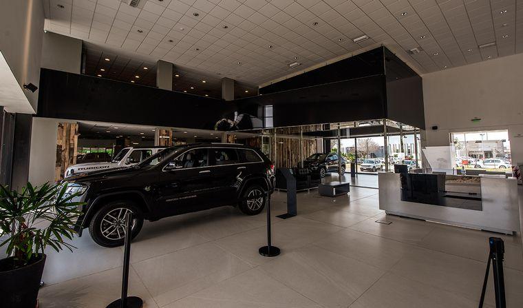 FOTO: La nueva sede de Jeep en  Avenida Santa Ana 6363, Esq. Av. Circunvalación de Córdoba.