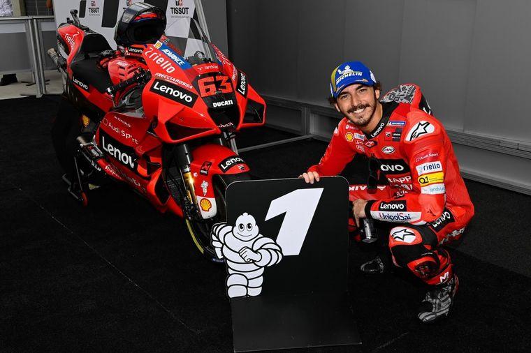 FOTO: Bagnaia, Miller y las Ducati, dominaron la clasificación en Aragón