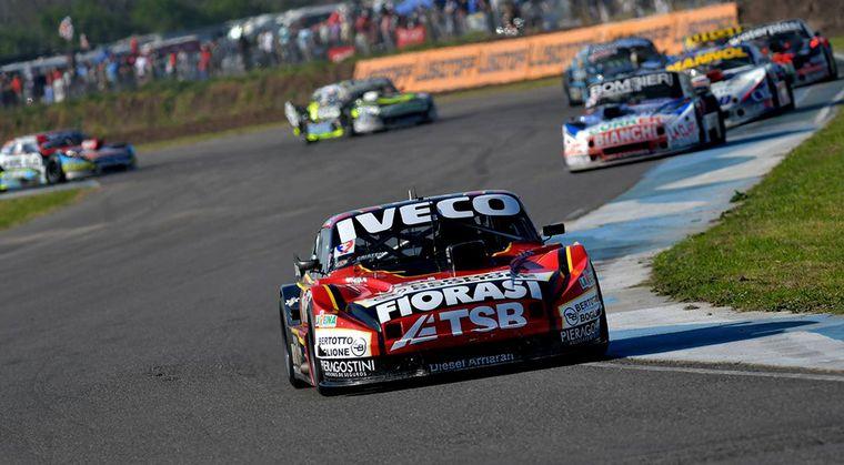 FOTO: La vigencia de Ledesma (Chevrolet), a la postre ganador en Rafaela.