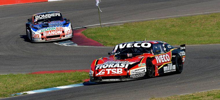 FOTO: Urcera y su Chevrolet, inalcanzables en Rafaela. (Fueron excluidos por técnica)