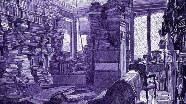 """FOTO: La oscura """"enfermedad del libro"""" que surgió en el siglo XIX."""