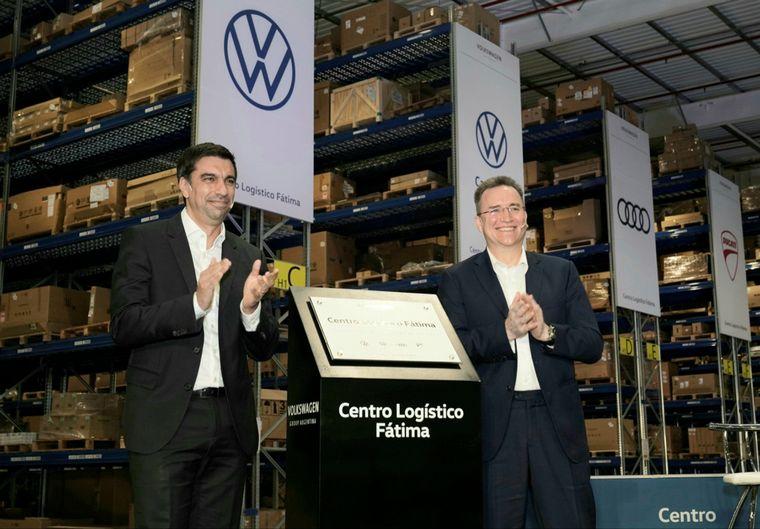 FOTO: Thomas Owsianski, presidente y ceo de VW Group Argentina en la inauguracion de Fatima