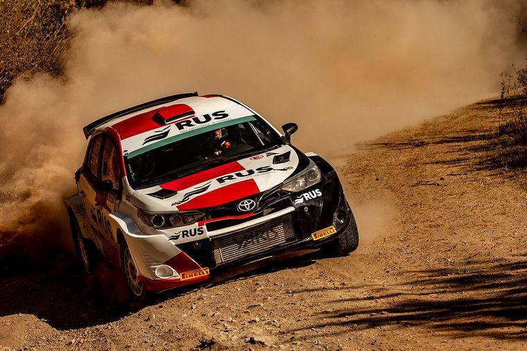 FOTO: Gerónimo Padilla, el local se recuperó y llegó 5° en Maxi Rally.