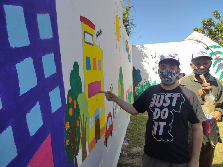 FOTO: Un mural que invita a la diversidad