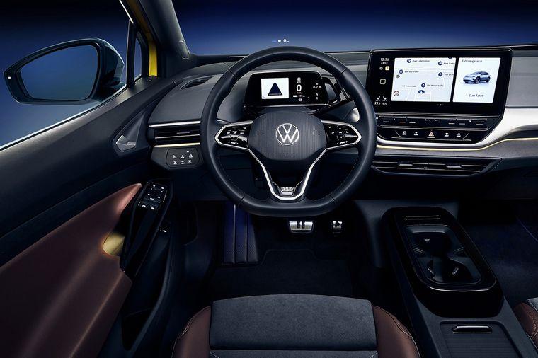 FOTO: ID,  lo último en electrificación de la marca Volkswagen en el mundo.