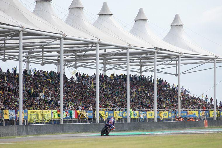 FOTO: El Autódromo Internacional de Termas de Rio Hondo vuelve a tener MotoGP.