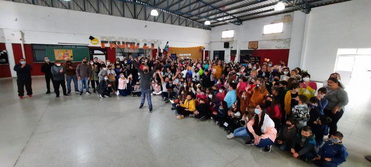 FOTO: Los alumnos de Río Segundo donaron tres biciadaptadas
