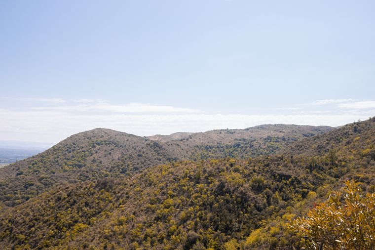 FOTO: El ascenso culmina en un mirador a 1090 metros de altura.